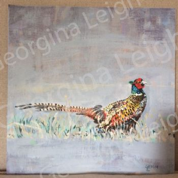Original Oil Painting of 'Pheasant'